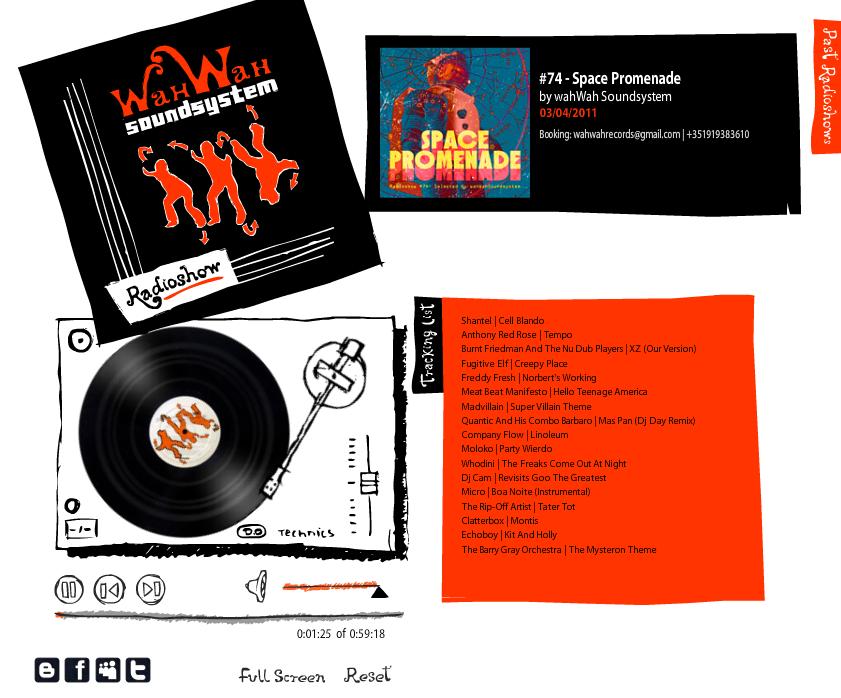 wahWah Soundsystem Radioshow