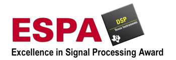 ESPA Award – Excellence in Signal Processing Award